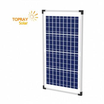 Солнечная батарея поликристаллическая TopRay Solar 30 Вт