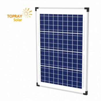 Солнечная батарея поликристаллическая TopRay Solar 40 Вт