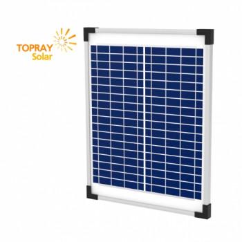 Солнечная батарея поликристаллическая TopRay Solar 15 Вт
